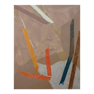 Paper Collage by Trevor Jones For Sale
