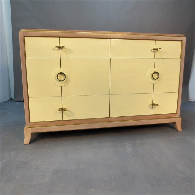 Parzinger Style Chest of Drawers For Sale - Image 10 of 10