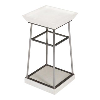 Hunt Country Drink Table, Working White For Sale