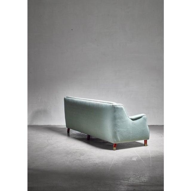 1950s Borge Christoffersen Four Seater Sofa, Denmark For Sale - Image 5 of 6