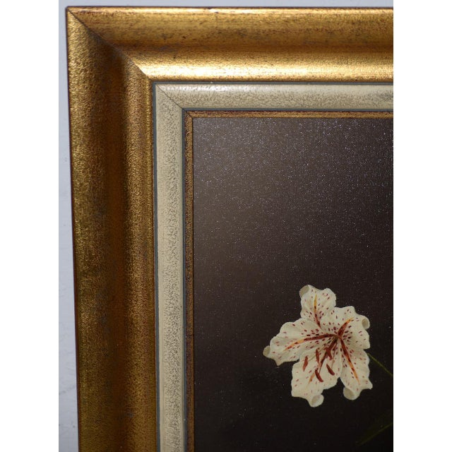 Tilly Moes (1899-1979) Still Life W/ Lilies C.1950 For Sale In San Francisco - Image 6 of 10