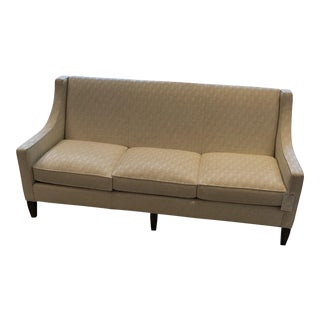 Ivory Transitional Sofa
