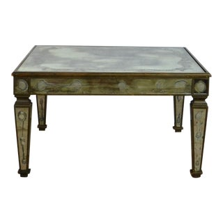 1950s Hollywood Regency Venetian Style Coffee Table For Sale