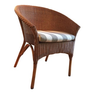 Palacek Woven Rattan Bistro Chair For Sale
