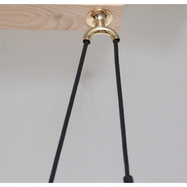 1970s Florian Schulz Double Onos 55 Pendant Lamp with Side Counter Weights For Sale - Image 5 of 7