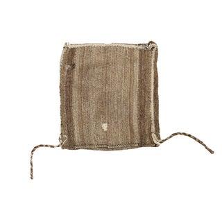 Vintage Upcycled Grainbag Throw For Sale