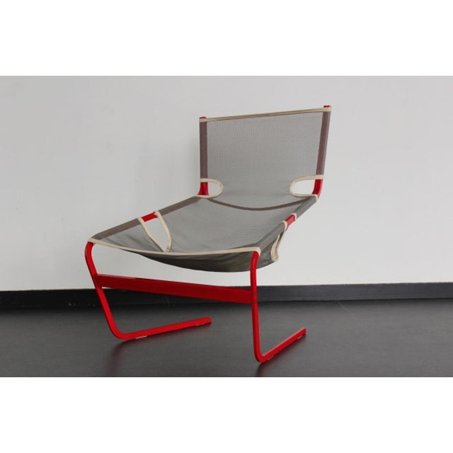 Highly rare Artifort F444 Chair by Pierre Paulin For Sale - Image 9 of 9