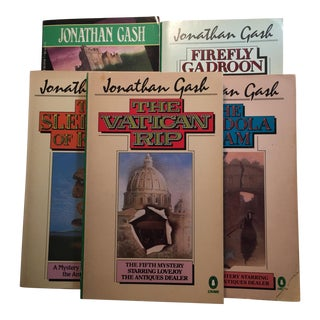Vintage Jonathan Gash Paperbacks - Set of 5