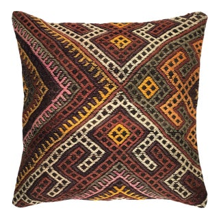 """Reclaimed Turkish Kilim Pillow 