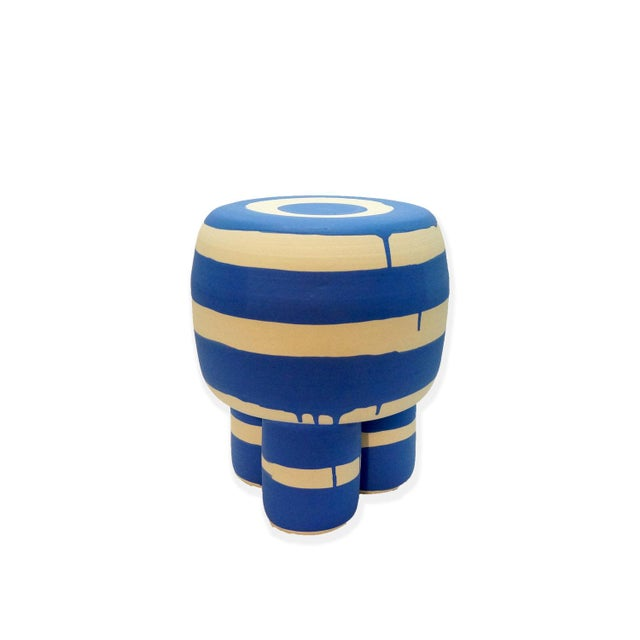 Workaday Handmade Ceramic Milking Stool For Sale In New York - Image 6 of 6