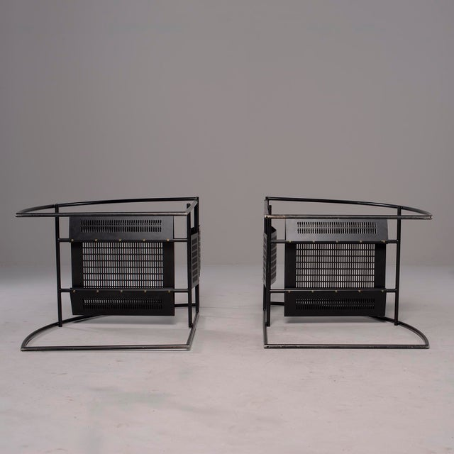 Metal Alias Italian Botta Quinta Op Art Dining Chairs - Set of 8 For Sale - Image 7 of 13