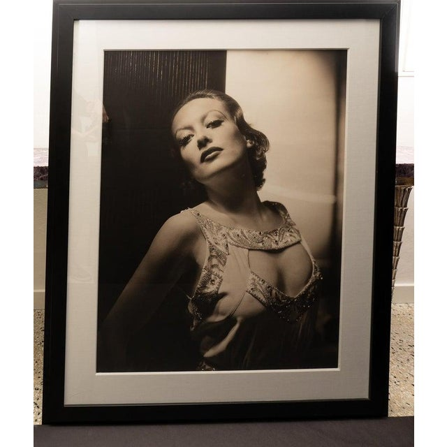 Vintage 2000 George Hurrell Joan Crawford Digital Photograph From 1932 Restored Negative For Sale - Image 12 of 13