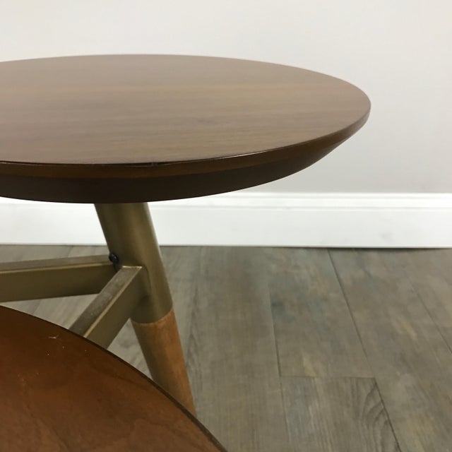 West Elm Mid-Century Modern Tri Surface Coffee Table - Image 4 of 7