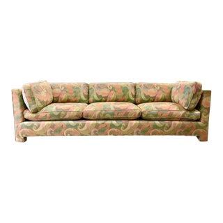1970s Vintage Milo Baughman Style Sofa For Sale