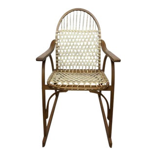 Mid 20th Century Vintage Rustic Modern Showshoe Chair For Sale