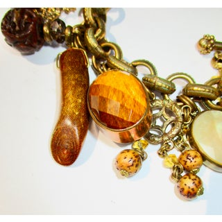 Stephen Dweck Jewelry Charm Bracelet With Various and Multiple Stones Preview