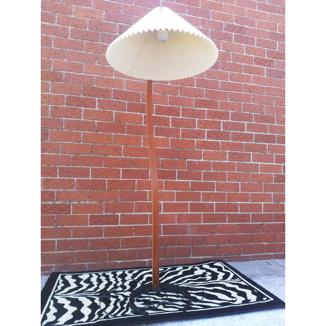 Vintage Danish Modern Bentwood Mads Caprani Floor Lamp For Sale - Image 11 of 13