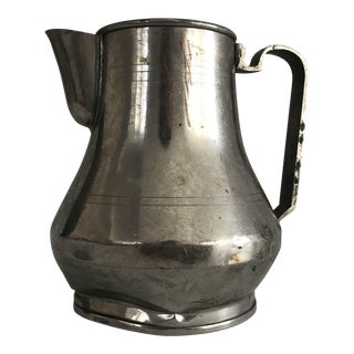 Antique Copper Turkish Water Carafe For Sale