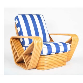 1970s Paul Frankl Style Pretzel Rattan Chairs-A Pair Preview
