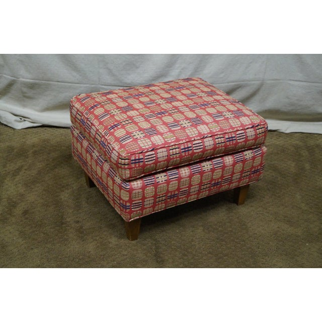 Newerly Upholstered Barrel Back Lounge Chair For Sale - Image 9 of 10