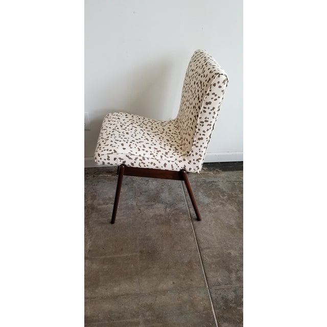 Hollywood at Home Hollywood at Home Double Dotty Upholstered Dining Chairs- Set of 4 For Sale - Image 4 of 6