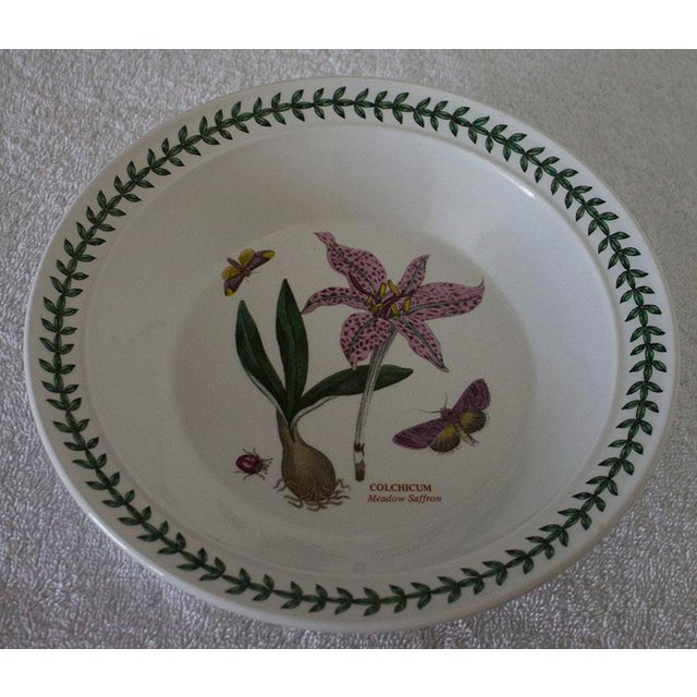 Set of 6 Portmeirion Botanic Garden Soup Bowls - Image 8 of 10