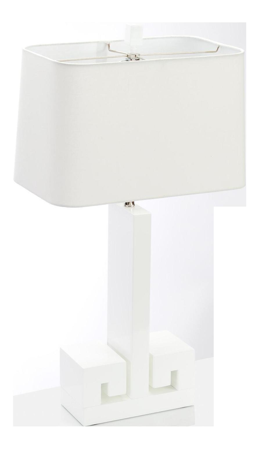 Astor Table Lamp   White