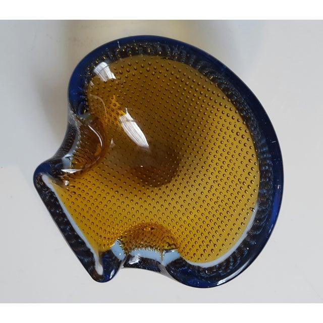 Murano Glass Nautilus Bullicante Shell - Image 4 of 7