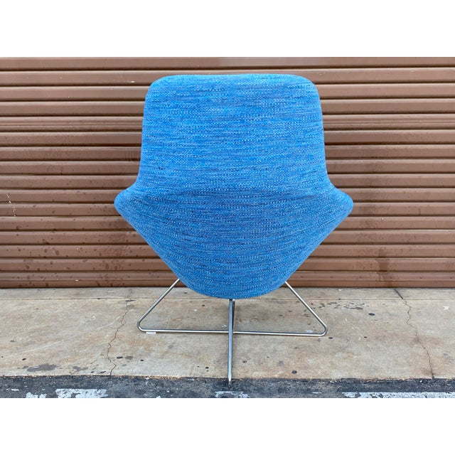 Contemporary Allermuir Conic Modern Lounge Chairs - a Pair For Sale - Image 3 of 7