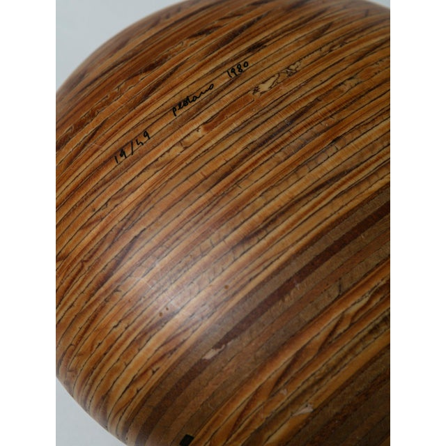 Modern Wood Sclupture by Pedano For Sale - Image 3 of 5