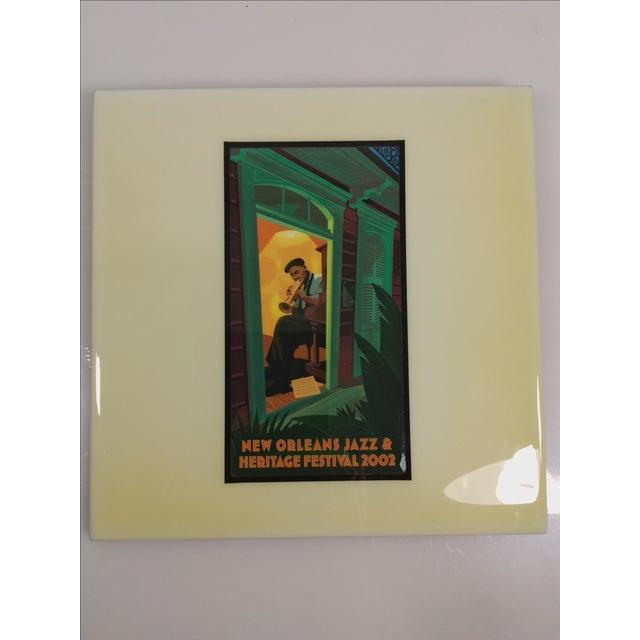 2002 New Orleans Jazz Festival Poster Art Tile - Image 2 of 5