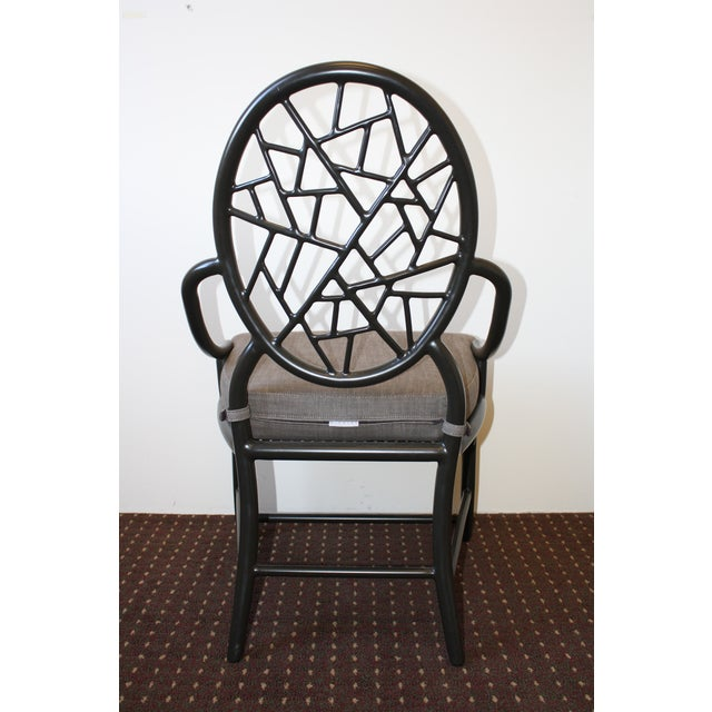 McGuire Cracked Ice Garden Arm Chair - Image 5 of 7