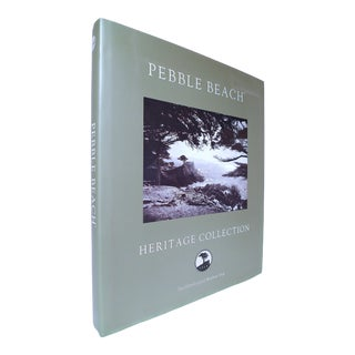 2000s Neal Hotelling and Matthew Vree's Pebble Beach Heritage Collection Decorative and Illustrated Folio Book For Sale