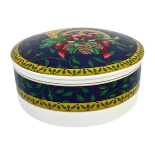Mikasa Ceramic Trinket Box For Sale