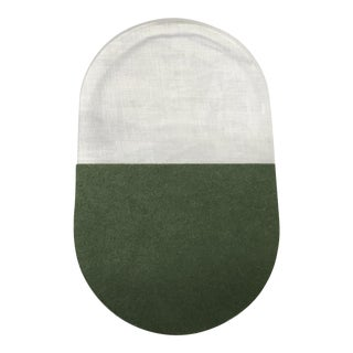 AndLight Slab W20 Wall Sconce in Fern Green - Showroom Sample For Sale