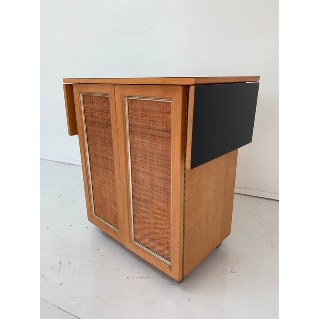 1960s Vintage Mid Century Bar Cart For Sale - Image 11 of 13