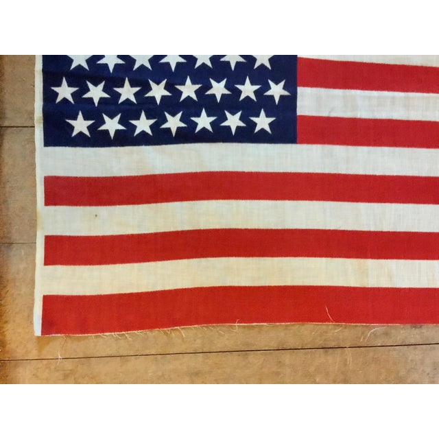45 Star American Parade Flag For Sale In Boston - Image 6 of 7