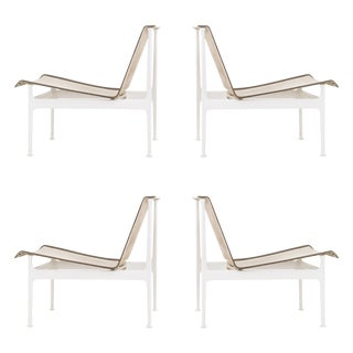 Set of Four Richard Schultz 1966 Series Armless Lounge Chairs