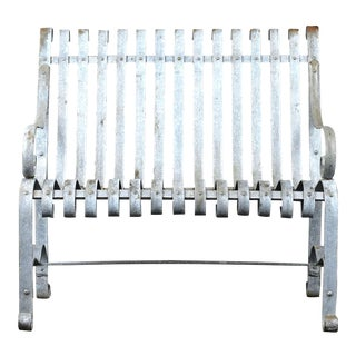 Traditional Antique Garden Outdoor Patio Bench For Sale