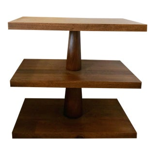 Noir Walnut Side Table
