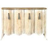 Image of Designer Cabinet in Bleached Oak For Sale