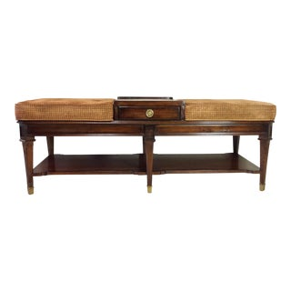 Vintage Sherrill Furniture Occasional Table/Bench
