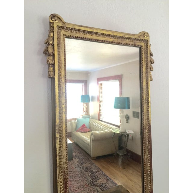 Antique French Gold Leaf Gilt Mirror - Image 4 of 9