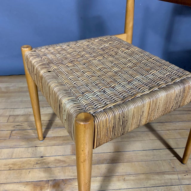 1950s Egon Eiermann Church Chairs- Set of 4 For Sale - Image 11 of 13