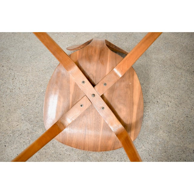 Mid Century Norman Cherner Molded Plywood Side Chair For Sale - Image 10 of 11