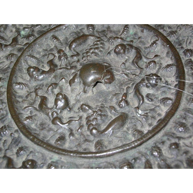 Antique Chinese Tang Dynasty Bronze Mirror For Image 5 Of 10