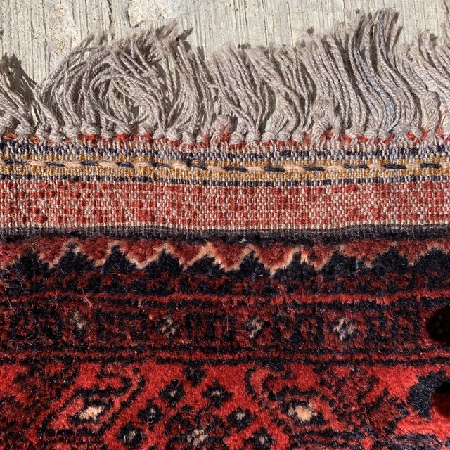 Natural Fiber Late 20th Century Kahn Mohamadi Rug - 4′2″ × 6′3″ For Sale - Image 7 of 10