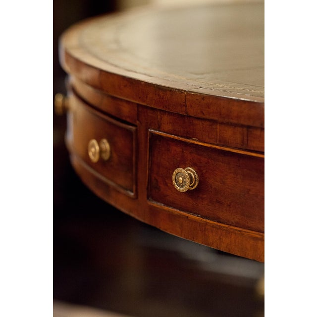 Early 19th Century Regency Drum/Rent Table, England Circa 1815 For Sale - Image 5 of 13