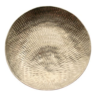 Handmade Aluminum Display Dish / Bowl For Sale