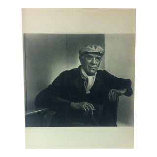 "Black & White Print on Paper, ""Georges Braque"" by Yousuf Karsh, 1967 For Sale"